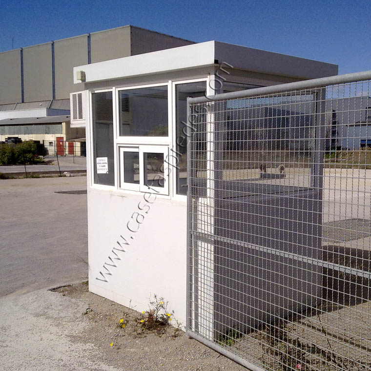 Casetas vigilancia alquiler y venta de casetas de for Casetas para exterior de segunda mano
