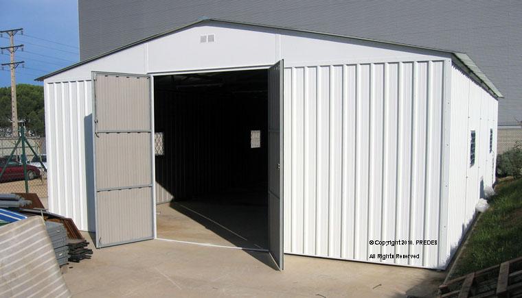 Predes almacenaje y almacenamiento almacenes y naves - Garajes prefabricados precios ...