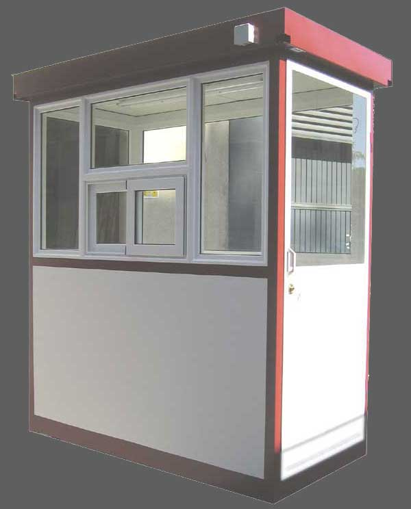 Cabinas de control casetas vigilancia casetas seguridad for Casetas pvc exterior segunda mano