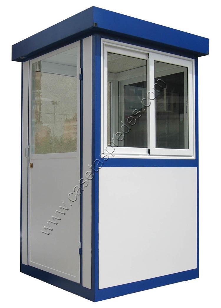 Cabinas de control casetas vigilancia casetas seguridad for Casetas de resina para jardin