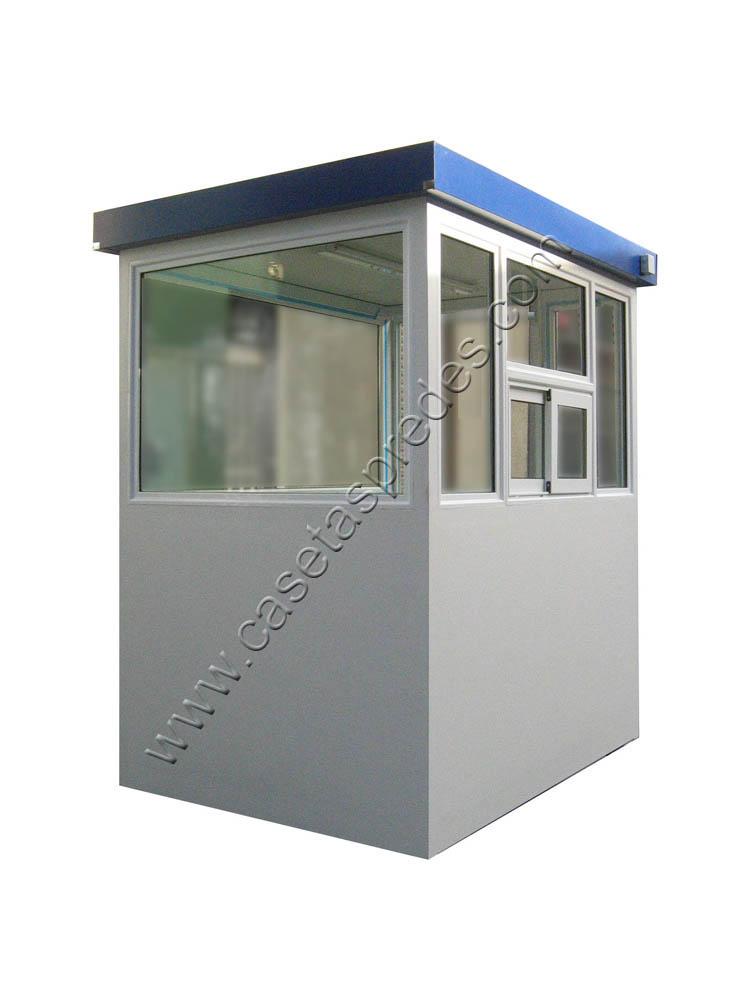 Cabinas de control casetas vigilancia casetas seguridad for Casetas de chapa galvanizada precios