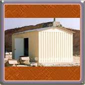 Casetas para obras caseta de obra casetas prefabricadas for Caseta de chapa desmontable