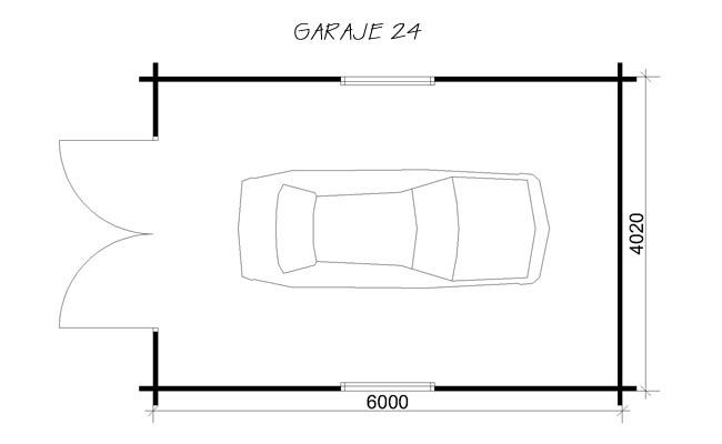 Garajes prefabricados para turismos garajes prefabricados - Garajes de madera baratos ...
