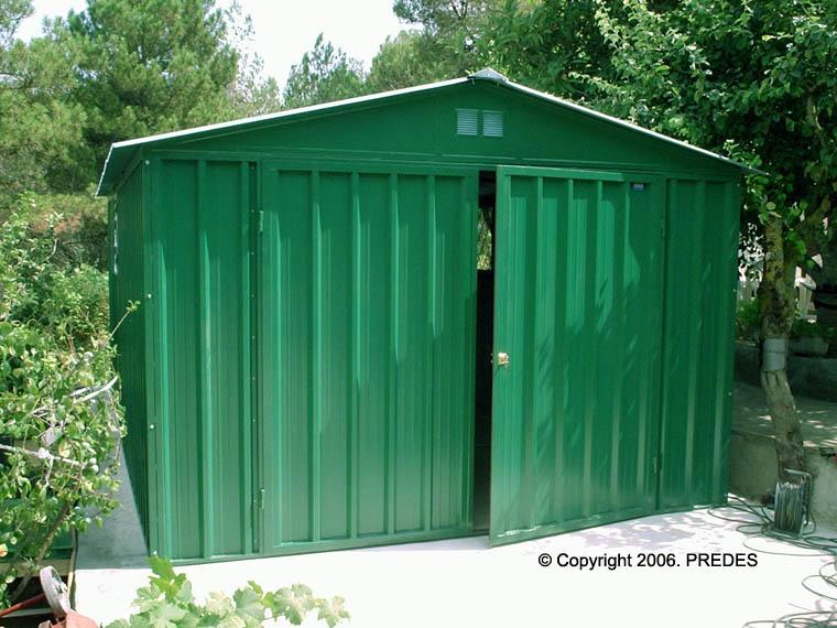 Garajes prefabricados para turismos garajes prefabricados for Casetas de metal para jardin