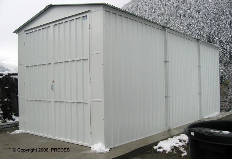 Caseta De Chapa Desmontable Of Garajes Prefabricados Para Turismos Garajes Prefabricados