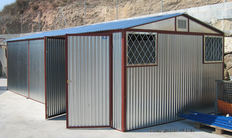 ... Caseta Prefabricada Desmontable Garaje Almacen