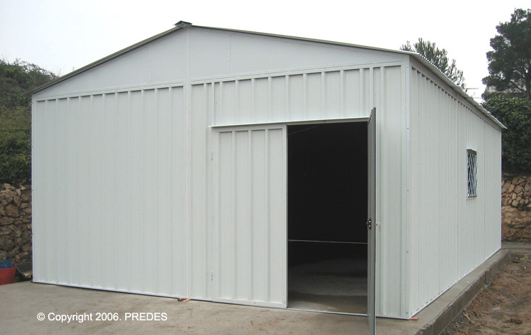 Garajes prefabricados para turismos garajes prefabricados for Puertas prefabricadas precios