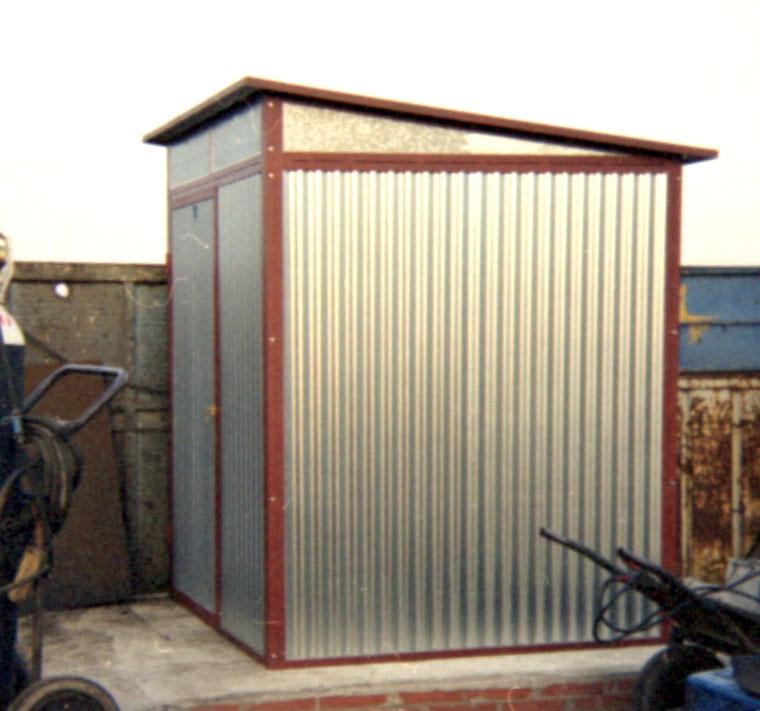 Modulos prefabricados y casetas prefabricadas de segunda for Caseta jardin segunda mano barcelona